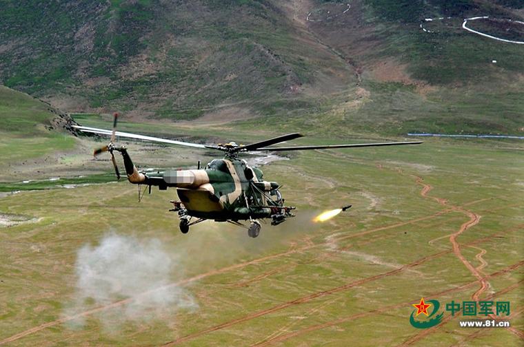 武装直升机训练场景什么样,快来瞅
