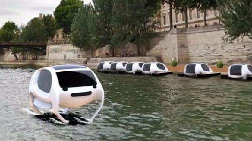 """外媒:巴黎将测试""""水上出租车""""既能航行又能飞"""