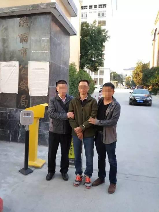 番禺大劫案嫌犯在边境藏匿19年 被抓前买念珠安神