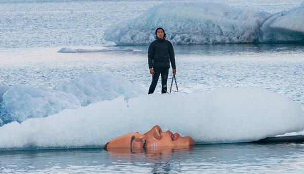 不可思议的冰雪艺术品