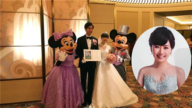 福原爱东京迪士尼办婚礼