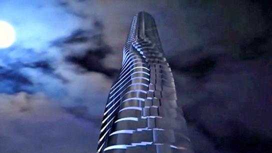 创意!2020年迪拜将建成可360度旋转房间