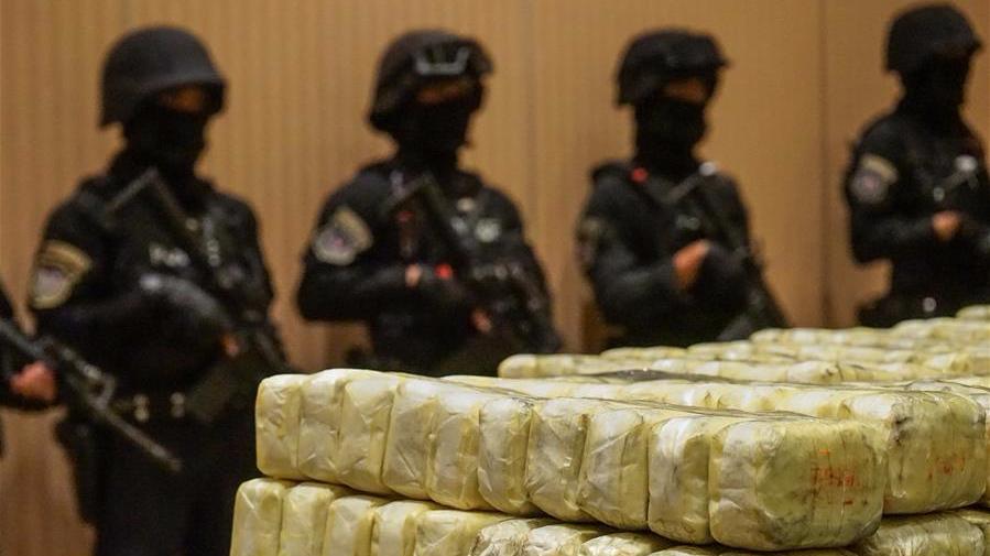 泰国警方收缴大批毒品 价值约3700万美元