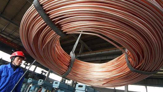 花旗:到2020年中国会让全球铜价暴涨33%