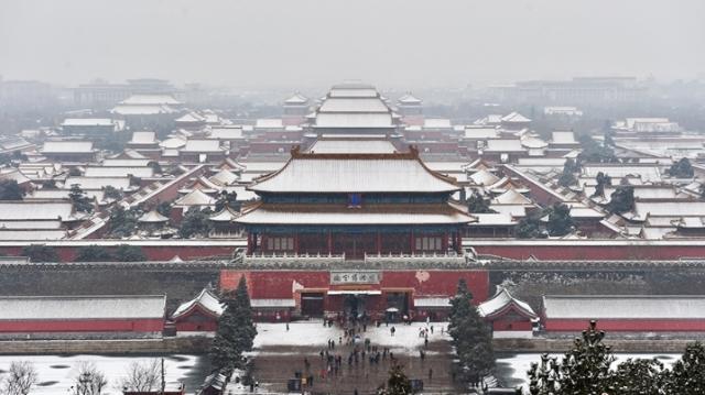 """从地标看""""春雪""""中的京城"""