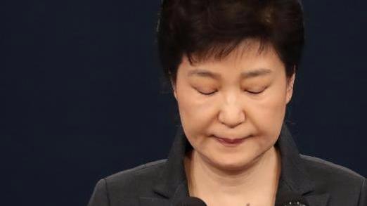 朴槿惠将在弹劾案宣判前主动辞职?韩国总统府回应
