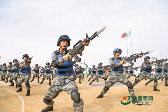 赴马里中国蓝盔:9个月直面恐袭240起