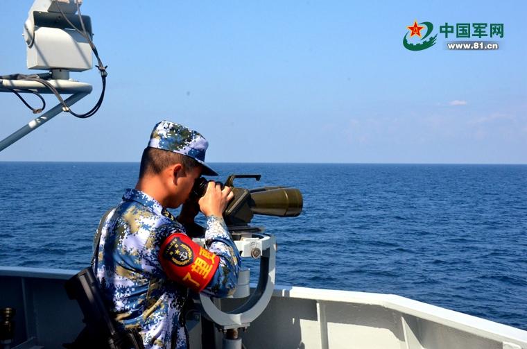 连续72小时海上训练,第25批护航编队也是拼了