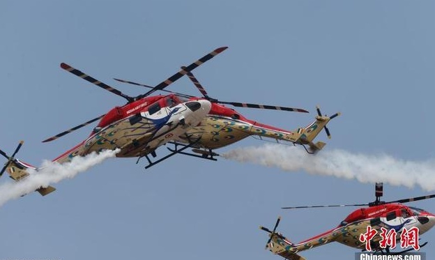 中国空军派团参加印度航展 印方称化解两国紧张关系