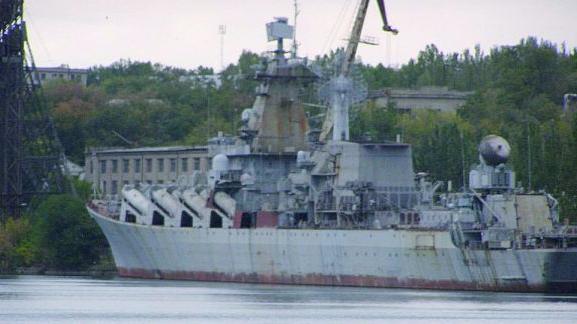 """乌总统下令拆掉""""乌克兰""""号巡洋舰:卖钱发工资"""