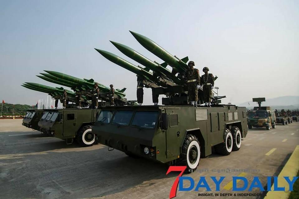 缅甸建军节阅兵装备一水中国造