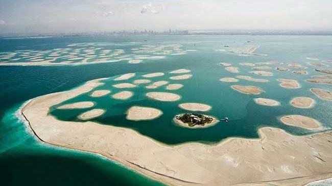 全球最大烂尾工程 迪拜填海造岛800亿打水漂