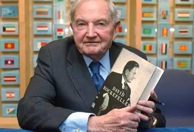 美国银行家、慈善家大卫洛克菲勒去世 享年101岁