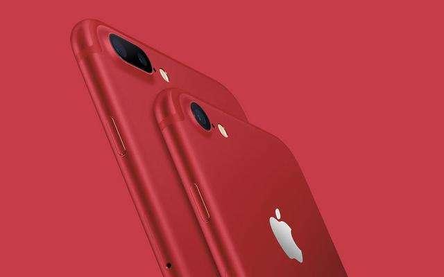 苹果iPhone7红色特别版上市 纪念艾滋病基金会