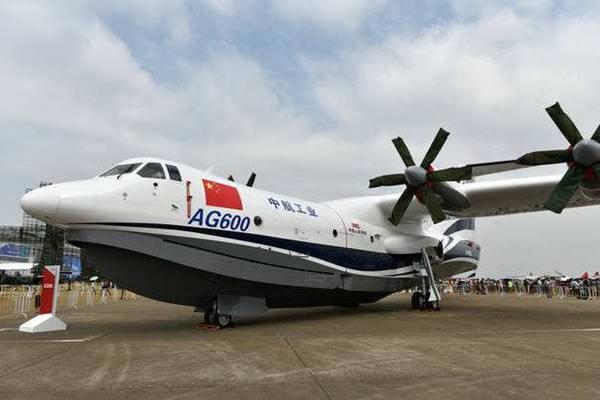 国产两栖飞机AG600五月首飞