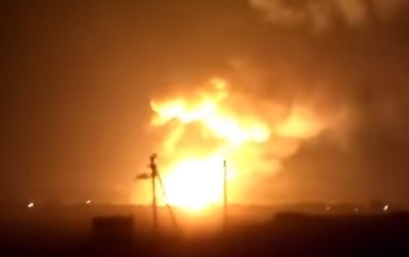 乌克兰一弹药库发生爆炸 当地居民已被疏散