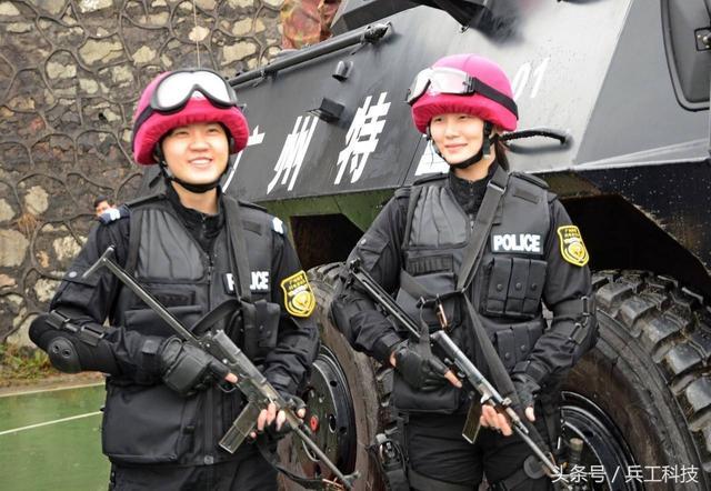 中国特警用什么枪?一眼就能看明白