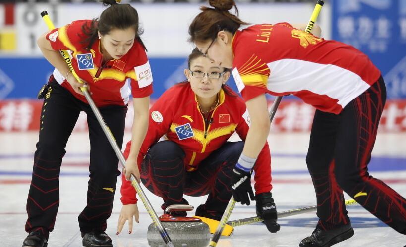 女子冰壶世锦赛中国夺第二胜 7-5送丹麦六连败