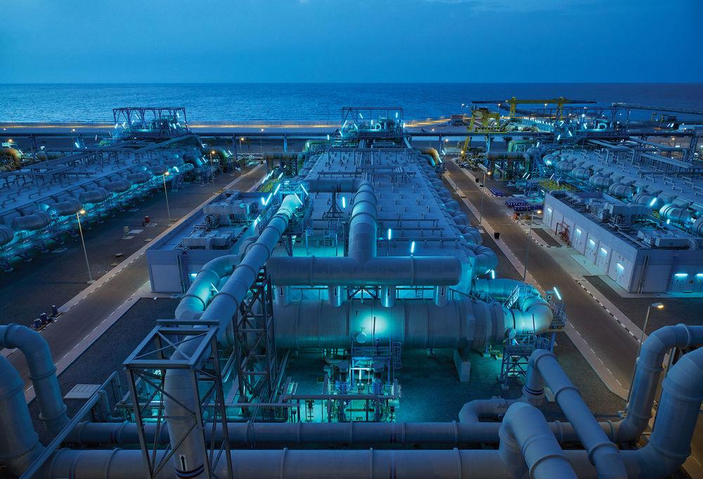 揭秘迪拜海水淡化工厂 看它如何驯服大海