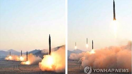 朝鲜试射导弹被指失败 半岛局势呈剑拔弩张之势