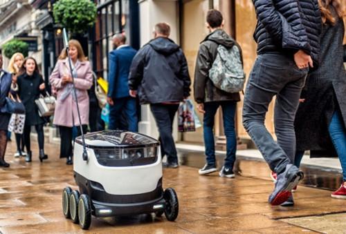 又一款送餐机器人在旧金山上路 还有人保驾护航