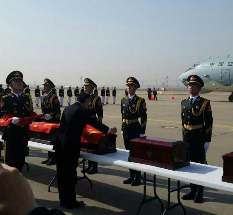 韩国将向中方送还28具志愿军遗骸 今举行入殓仪式