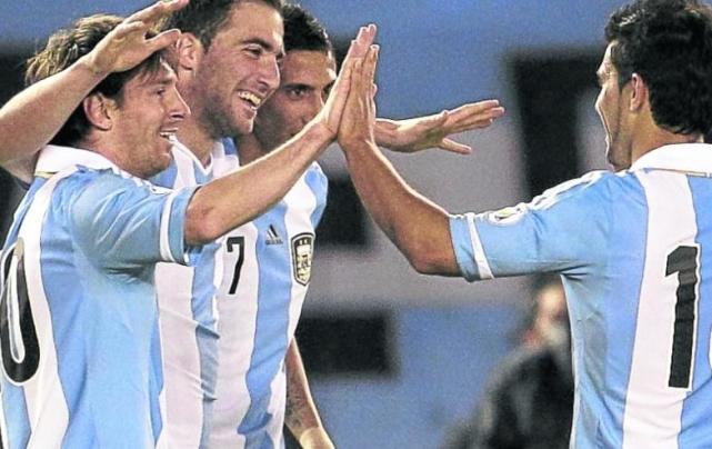 阿根廷13战10胜组合首发战智利 唯取胜才可争前4
