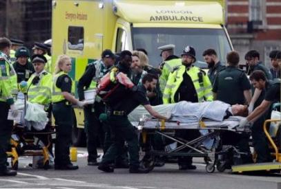 英议会大厦外枪击致5人死40多伤 疑IS幕后操纵