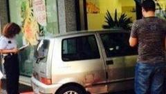 米兰耄年老妇夜驾闯入华商店铺 幸无伤亡