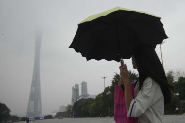 冷空气驾到!广州市区飘起小雨,体感清凉