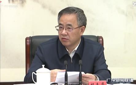 胡春华:把学习贯彻习近平重要批示精神作为首要政治任务抓好