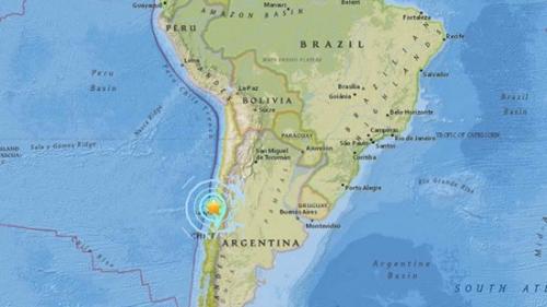 智利6.9级强震未造成重大灾祸 暂无人员伤亡报告