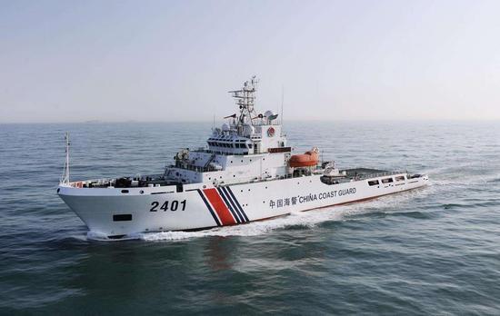 港媒:中国海警巡逻南沙最南端 加强