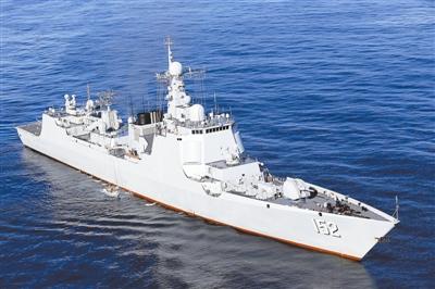 致敬!见证历史的人民海军同名舰