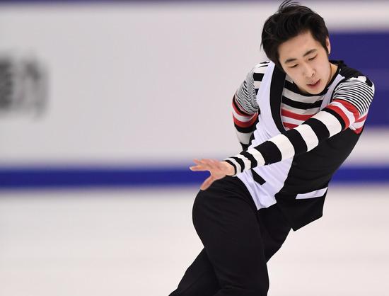 花滑团体世锦赛金博洋短节目第三 中国暂居第四