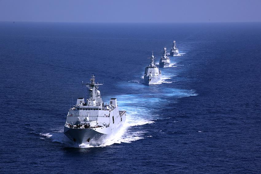 海军主战装备成建制更新换代 专家:厚积薄发的结果