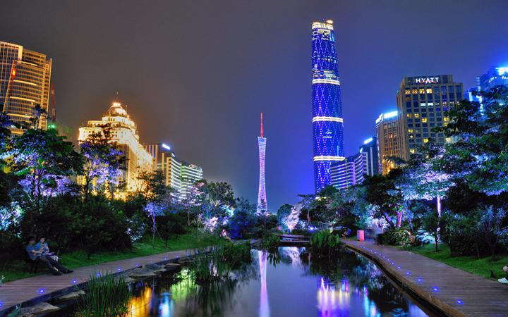 广州拟投1700万元微改造花城广场和海心沙