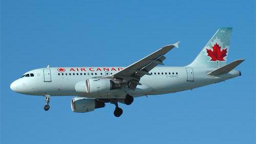 中国到加拿大飞机