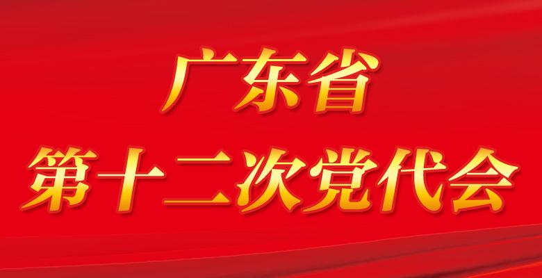 广东省第十二次党代会专题