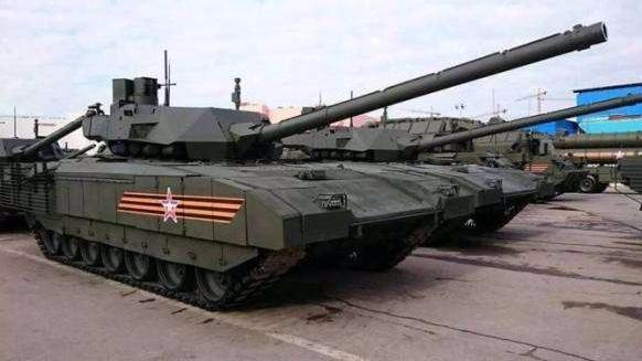 俄媒:美军战车测试新伪装术 为了防阿玛塔坦克