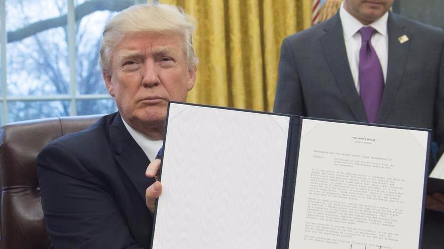 美国退出TPP后 其余11个成员国决意继续推进协定