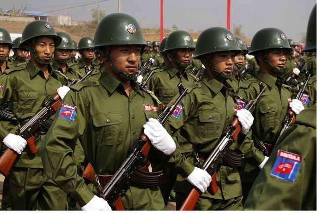 缅北7支武装组织代表抵达内比都参加和平大会