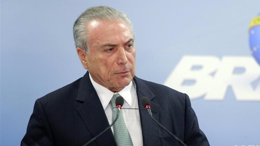 巴西总统重申自己无罪 自称