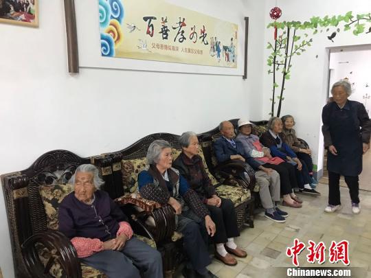 """""""小圈子""""内居家养老 上海奉贤探索""""睦邻四堂间"""""""