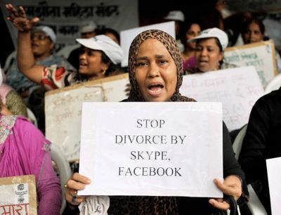 """离婚,离婚,离婚!印度第一个连说三次""""离婚""""休夫的女人:男人可以,我为什么不行?"""