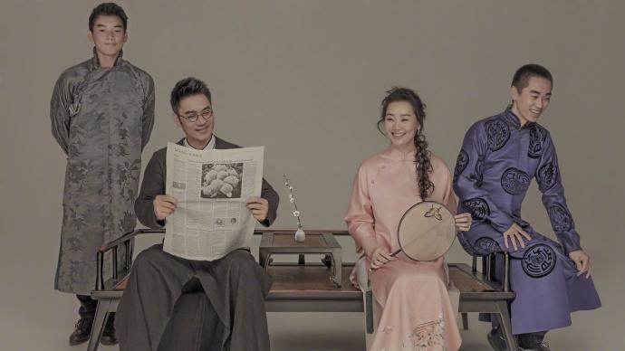 林依轮庆结婚二十二周年 全家福照颜值爆表