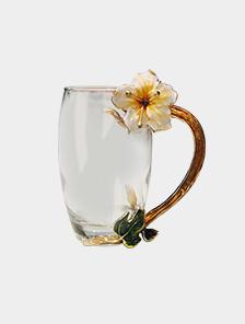 高端珐琅杯套装 西丽花杯