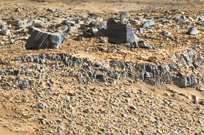 火星古湖泊再现微生物存活迹象 曾有生命存活环境?