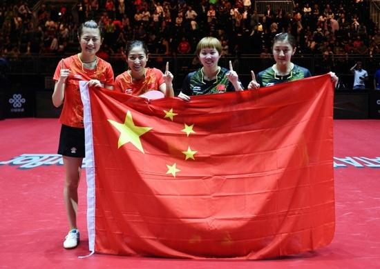 新华社:乒乓球成为中国的软实力 中文成赛场语言