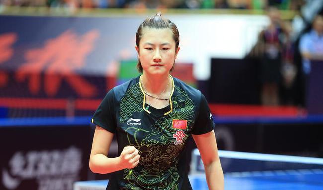 中乒赛-丁宁4-1逆转16岁新星 第三度问鼎冠军